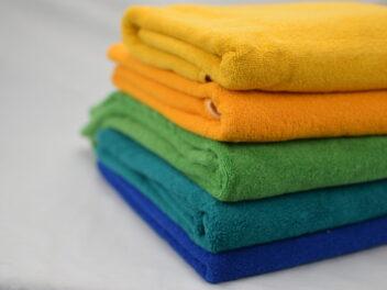 Toallas rizo convencional en color